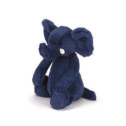 Bashful Elephant Blue Medium 12 by Jellycat