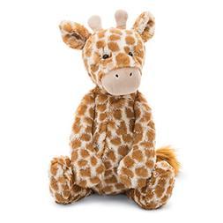 Jellycat Bashful Giraffe Stuffed Animal, Large, 15 inches