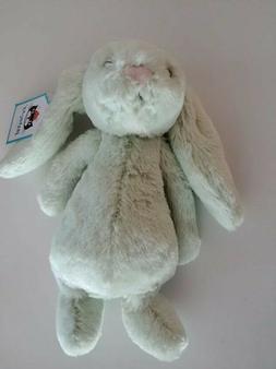 Jellycat Bashful Kiwi Bunny Stuffed Animal, Small, 8 inches