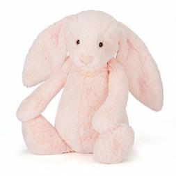 Jellycat Bashful Pink Bunny Stuffed Animal, Huge, 21 inches