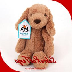 Jellycat Bashful Toffee Puppy, Small, 7 inches