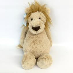 "JELLYCAT Bashful ultra-soft tan lion - 12"" medium plush stuf"