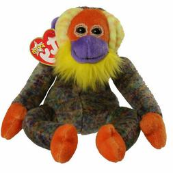 TY Beanie Baby - BANANAS the Monkey  - MWMTs Stuffed Animal