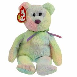 TY BEANIE BABY, GROOVY THE TY DYE BEAR, DATE OF BIRTH JANUAR
