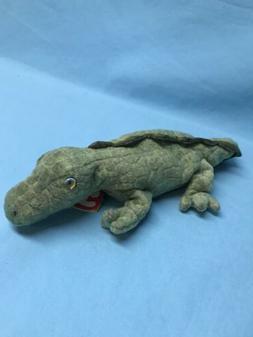TY Beanie Baby - SWAMPY the Alligator  - MWMT's Stuffed Anim
