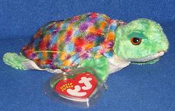 TY Beanie Baby - ZOOM the Sea-Turtle  - MWMTs Stuffed Animal