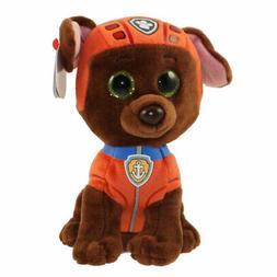 "TY Beanie Boos 6"" Paw Patrol ZUMA the Labrador Plush Stuffed"