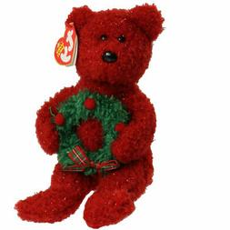 TY Beanie Baby - 2006 HOLIDAY TEDDY  - MWMTs Stuffed Animal