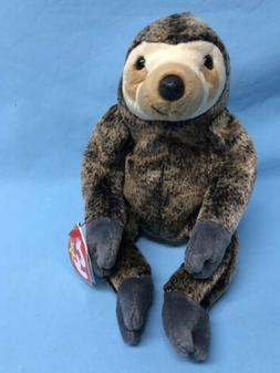 TY Beanie Baby - SLOWPOKE the Sloth  - MWMT's