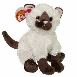 TY Beanie Baby - ORIENT the Siamese Cat  - MWMTs Stuffed Ani