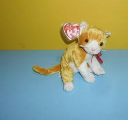 "Ty Beanie Babies 2003 Tangles Cat Kitten 6"" Bean Plush Stuff"