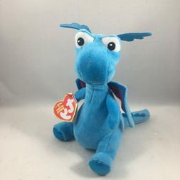 "Ty Beanie Babies 6"" Stuffy the Dragon Stuffed Animal Plush N"