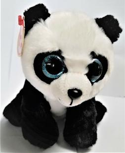 Ty Beanie Babies- 6'' The Panda  Baboo  Stuffed Plush Animal