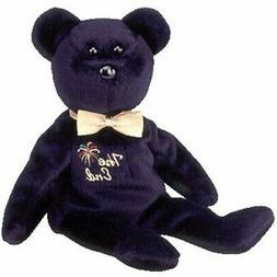 "TY  BEANIE BABIES ""THE END""  BEAR,RETIRED DATE 12/23/1999,TA"