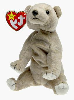 "TY Beanie Babies ""ALMOND"" the Bear - MWMTs! CHECK OUT MY BEA"