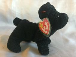 TY Beanie Babies Black Scottie Pup ** SCOTTIE ** 5th Generat
