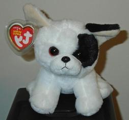 "TY Beanie Babies Boo's Marcel Bull Dog 6"" Stuffed Collectibl"