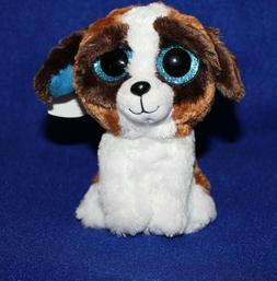 "TY Beanie Babies Boo's Duke Dog 6"" Stuffed Collectible Plush"