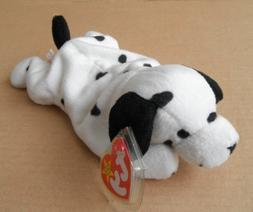 TY Beanie Babies Dotty the Dalmatian Dog Stuffed Animal Plus