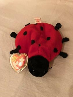 TY Beanie Babies LUCKY THE LADY BUG STUFFED ANIMAL New with