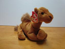 Ty Beanie Babies Niles the Camel, 2000, PE Pellets, Mint w/