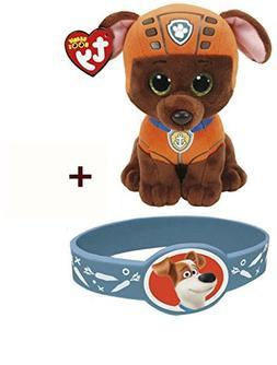 TY Beanie Babies -Paw Patrol- ZUMA labrador dog reg Plush -