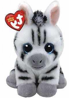 """Ty Beanie Babies 6"""" Regular Stripes Zebra Stuffed Animal Plu"""