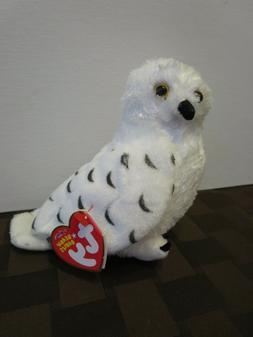 Ty Beanie Babies Summit the Snow Owl, 2007, PE Pellets, Mint