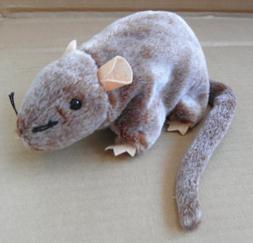 TY Beanie Babies Tiptoe the Mouse Stuffed Animal Plush Toy -