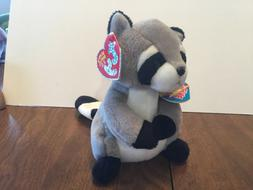TY Beanie Baby 2.0 - RICKY the Raccoon  - MWMTs Stuffed Anim