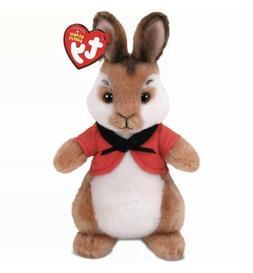 "TY Beanie Baby 8"" FLOPSY Stuffed Animal Plush w/ Heart Tags"