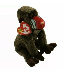 TY Beanie Baby - CHEEKS the Baboon  - MWMT's Stuffed Animal