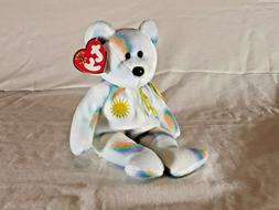 TY Beanie Baby - CHEERY the Sunshine Bear  - MWMT's Stuffed