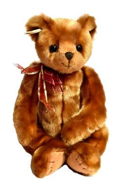 "TY Beanie Baby Classic Large TEDDY BEAR Yesterbear 18"" NWT S"