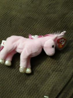 TY Beanie Baby - FAIRYTALE the Unicorn  - MWMTs Stuffed Anim