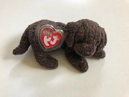 TY Beanie Baby FETCHER DOG Puppy Stuffed Animal New with Tag