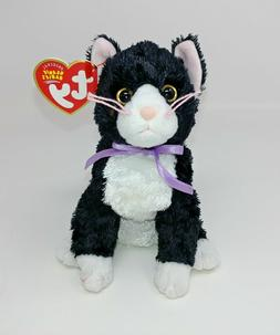 Ty Beanie Baby Fussy Cat 2004 Mint with Mint Tags Smoke Free