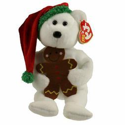 TY Beanie Baby - GOODY the Holiday Bear  - MWMTs Stuffed Ani