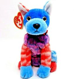 Ty Beanie Baby HODGE-PODGE the Colorful Dog  2002  MWMTs  Pl