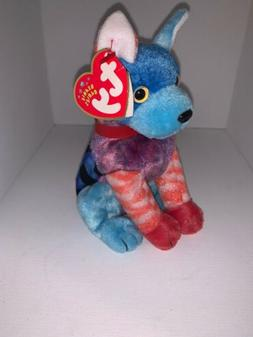 TY Beanie Baby - HODGE-PODGE the Dog  - MWMTs Stuffed Animal