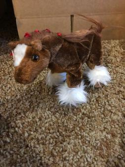 TY Beanie Baby - HOOFER the Clydesdale Horse  - MWMTs Stuffe