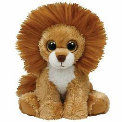 TY Beanie Baby - MIDAS the Lion  - MWMTs Stuffed Animal Toy