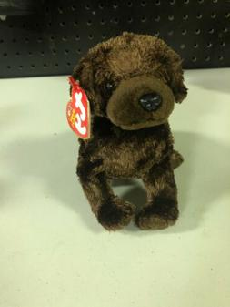 MWMT 5.5 inch Ty Beanie Baby ~ MUDDY the Dog