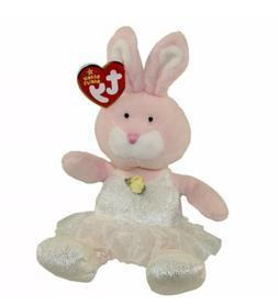 TY Beanie Baby - PIQUE the Ballerina Bunny  -MWMTs Stuffed A
