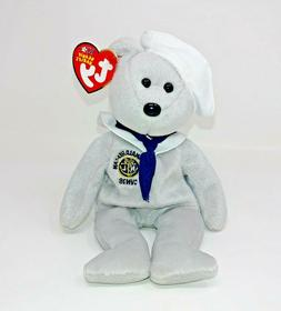 Ty Beanie Baby Ronnie Reagan 2003 Mint with Mint Tags Smoke