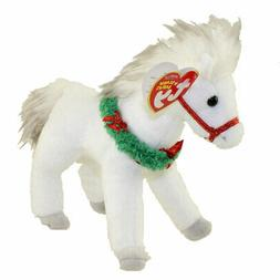 TY Beanie Baby - SLEIGHRIDE the Horse  - MWMTs Stuffed Anima