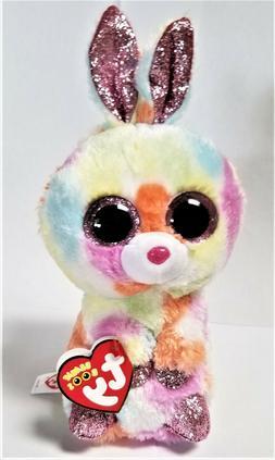 Ty Beanie Boo's - 6'' Bloomy The Easter Bunny  Stuffed Plush