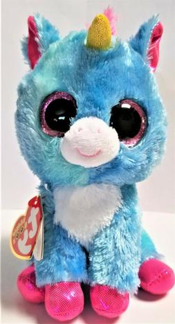 Ty Beanie Boo's - 6'' STITCHES The Unicorn Stuffed Plush Ani