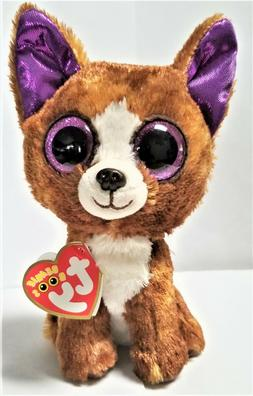 Ty Beanie Boo's  Dexter The chihuahua 6''  Stuffed Plush Ani