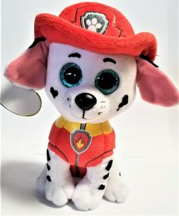 Ty Beanie Boo's THE Paw Patrol 6'' - Marshall -Stuffed Plush